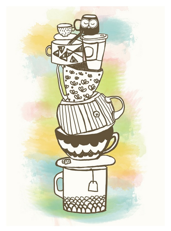 Rebecca Keegan - Stack O Mugs - Monday Muses